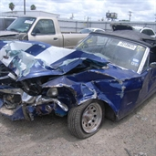 1965 ford Mustang bad accident