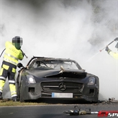 Mercedes-Benz SLS AMG Black Series test fail