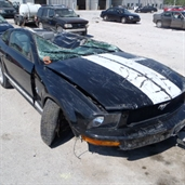 2009 mustang crash in Kansas