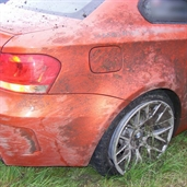 BMW 1-Series M Coupe Crashed in Poland