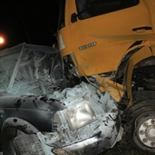 Truck and SUV fatal accident