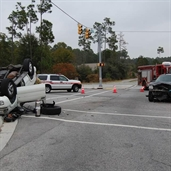 2-Vehicle Accident Sends One Person To Hospital in south carolina