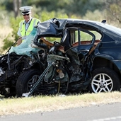 Five dead in fatal crash in victoria - Australia
