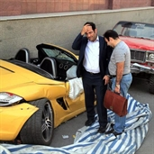 Porsche boxter s accident in Iran