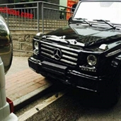 Two Mercedes-Benz G500 Crashed