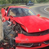 Ferrari 458 Crashed in Colorado