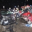 Lada and VW Jetta head on bad accident
