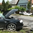 VW Golf and Audi A6 Accident in Hungary