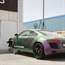Audi R8 Crashed in Dubai