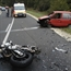 Audi A6, Suzuki Maruti and Motorcycle accident