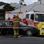 A CAB driver working on Christmas Day was killed in a high-speed road crash tragedy in Geelong