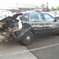 Tigard police car wrecked in accident