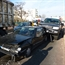 Land cruiser hits peugeot in Russia