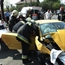 Lamborghini crash into fiat and roll it over in hungary