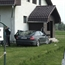 Audi A6 crash into a house in hungary