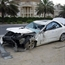 Mercedes SLK 2006 crash in kuwait