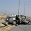 Hyundai accent car accident in kuwait